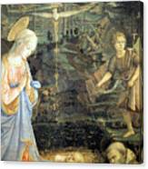 Lippi  Fra Filippo Painting Year1463 Canvas Print