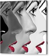Lipstick Canvas Print