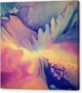 Liquid Abstract Nebula Canvas Print