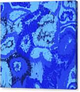 Liquid Blue Dream - V1sl100 Canvas Print