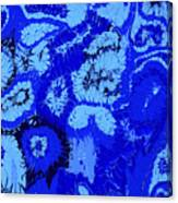 Liquid Blue Dream - V1vhkf100 Canvas Print