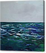 Liquid Blue No.4 Canvas Print