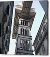 Lisbon City Elevator Canvas Print