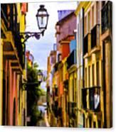 Lisbon Hills Canvas Print
