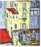 Lisbon Home Painting Canvas Print