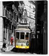 Lisbon Trolley 16c Canvas Print