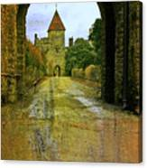 Lismore Castle Gate Canvas Print