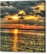 L.i.sound Sunset Canvas Print