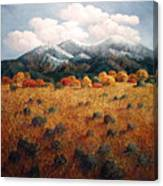 Listening To Mountains Canvas Print