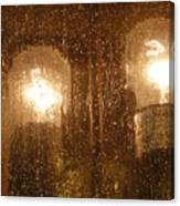 Lite Rain Canvas Print