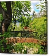 Lithia Park Bridge Canvas Print