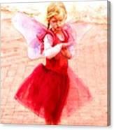 Little Angel Wings Canvas Print