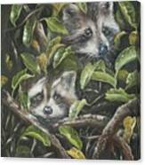 Little Bandits Canvas Print