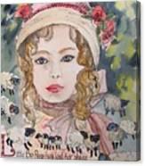 Little Bo Peep Canvas Print