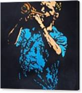 Little Boy Blues Canvas Print