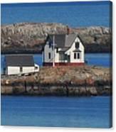 Little Brewster Island Canvas Print