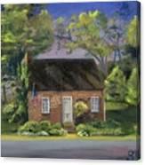 Little Brick House  Canvas Print
