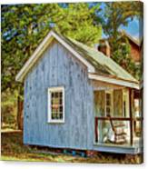Little Cabin In The Country Pine Barrens Of New Jersey Canvas Print