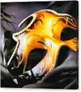 Little Carnival Mask Canvas Print
