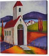Little Chapel 1 Canvas Print