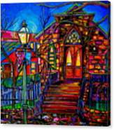 Little Church At La Villita II Canvas Print