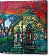 Little Church At La Villita Canvas Print