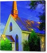 Little Church Canvas Print