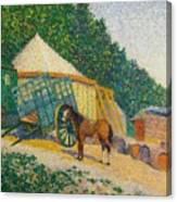Little Circus Camp Canvas Print