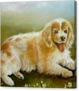 Little Cookie Canvas Print