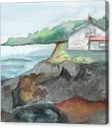 Little Cottage Canvas Print