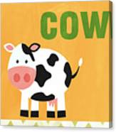 Little Cow Canvas Print