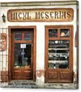 Little Craftsman' Shop - Micul Meserias Canvas Print