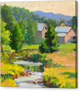 Little Creek Farm Canvas Print