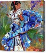 Little Dancer Canvas Print