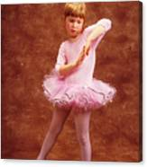 Little Dancer Canvas Print