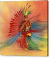 Little Dancing Boy Canvas Print