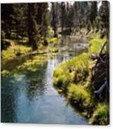 Little Deschutes Photograph Canvas Print
