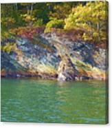 Little Diamond Island Springtime Canvas Print