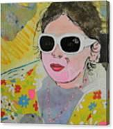 Little Diva  Canvas Print