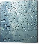 Little Drops Of Rain Canvas Print