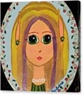 Little Elf Girl Canvas Print