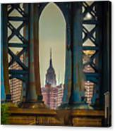 Little Empire State Building Canvas Print