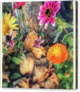 Little Garden Canvas Print