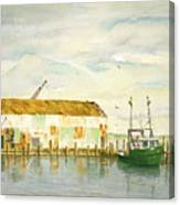 Little Giant Trawler Canvas Print