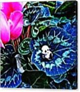 Little Glass Pandas 79 Canvas Print