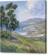 Little Harbor - Catalina Island Painting Canvas Print