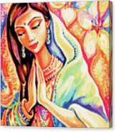 Little Himalayan Pray Canvas Print