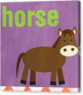 Little Horse Canvas Print