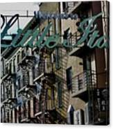 Little Italy In New York Canvas Print