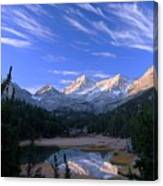 Little Lakes Valley Panorama Canvas Print